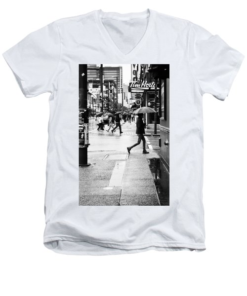 Missed Coffee Men's V-Neck T-Shirt