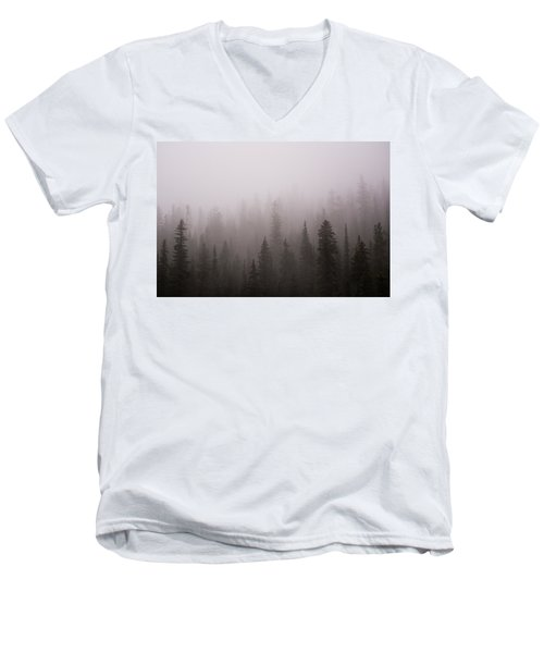 Misty Men's V-Neck T-Shirt