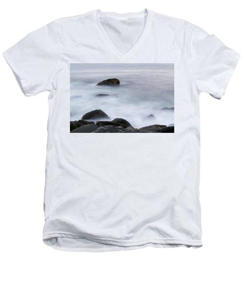 Misty Rocks Men's V-Neck T-Shirt