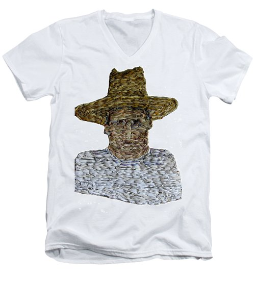Mm002 Men's V-Neck T-Shirt