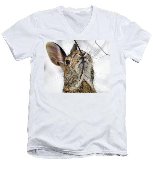 Mmm.. I Like Twiggy... Men's V-Neck T-Shirt