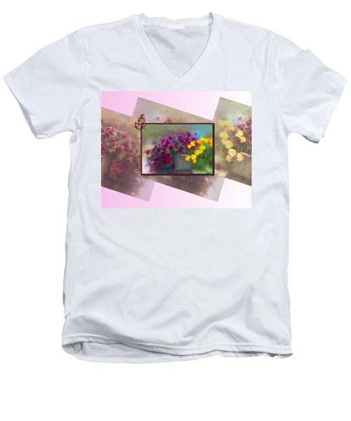 Moms Garden Art Men's V-Neck T-Shirt