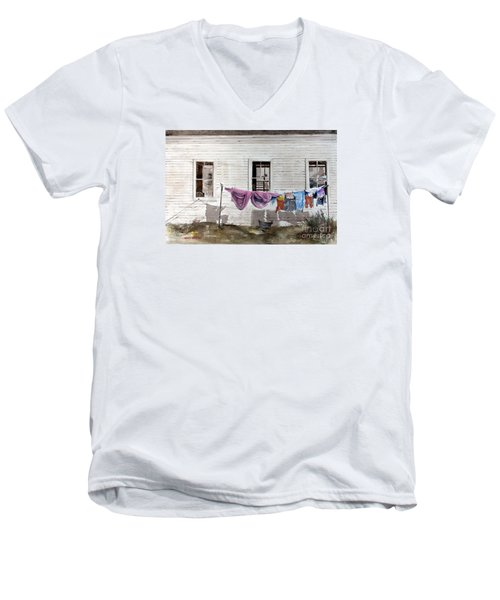 Monday Men's V-Neck T-Shirt