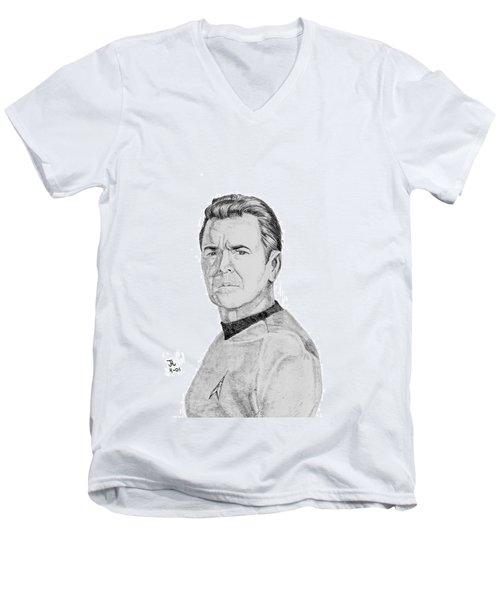 Montgomery Scott Men's V-Neck T-Shirt