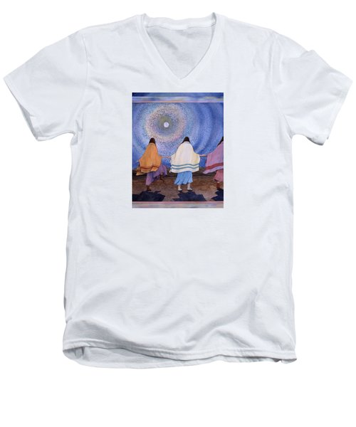 Moondance Men's V-Neck T-Shirt
