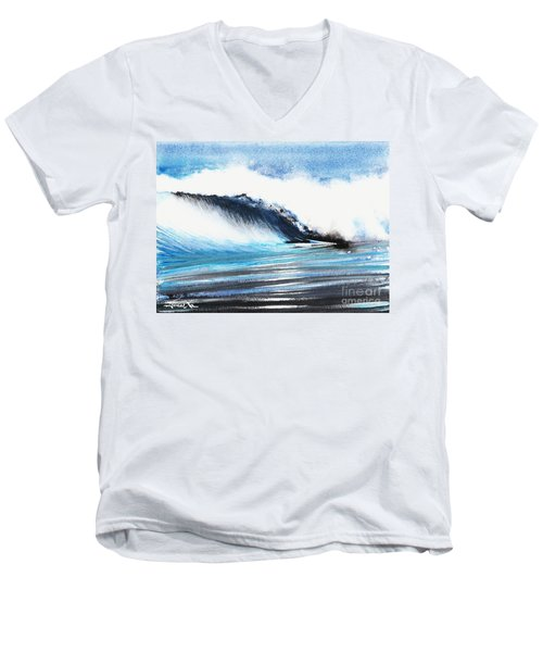 Moonlit Ocean Men's V-Neck T-Shirt