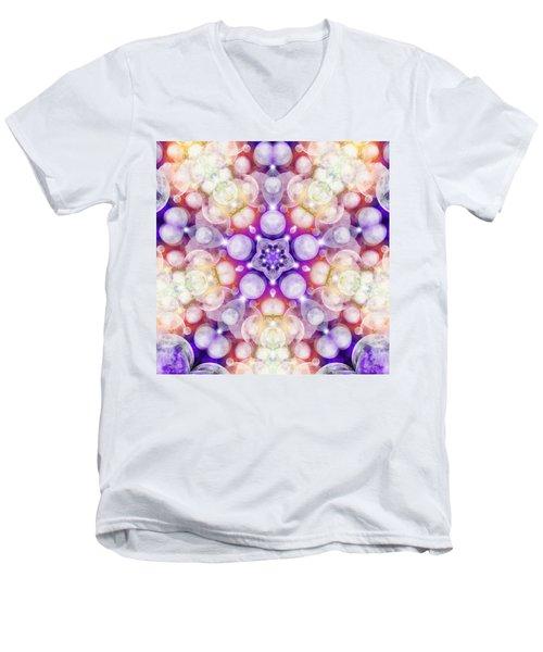 Moonstar Delta Men's V-Neck T-Shirt