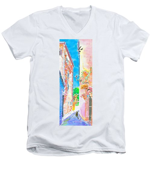 Morning Air  Men's V-Neck T-Shirt