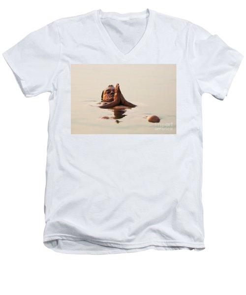 Morning Prayer Men's V-Neck T-Shirt