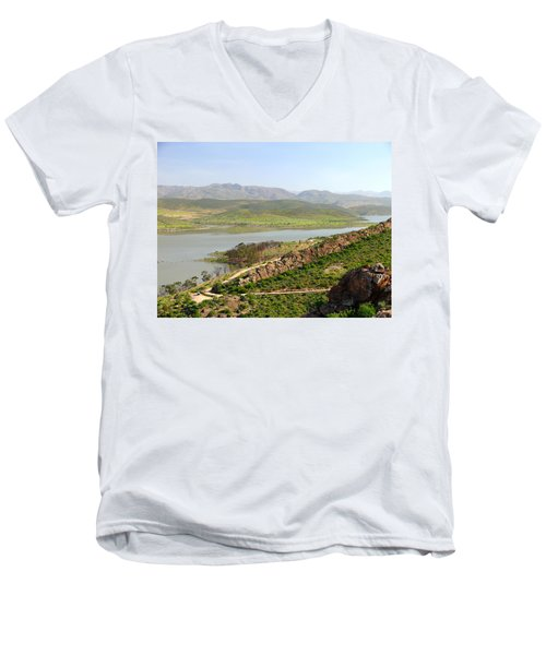 Moroccan Countryside 1 Men's V-Neck T-Shirt