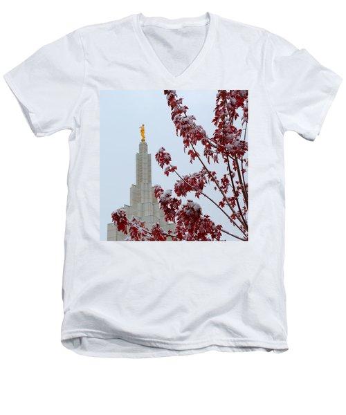 Moroni Men's V-Neck T-Shirt