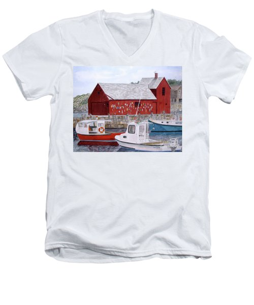 Motif No 1 Men's V-Neck T-Shirt