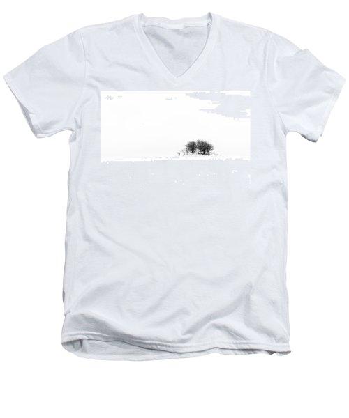 Men's V-Neck T-Shirt featuring the photograph Mound by Gert Lavsen