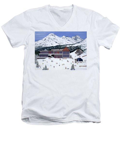 Mount Bachelor Men's V-Neck T-Shirt