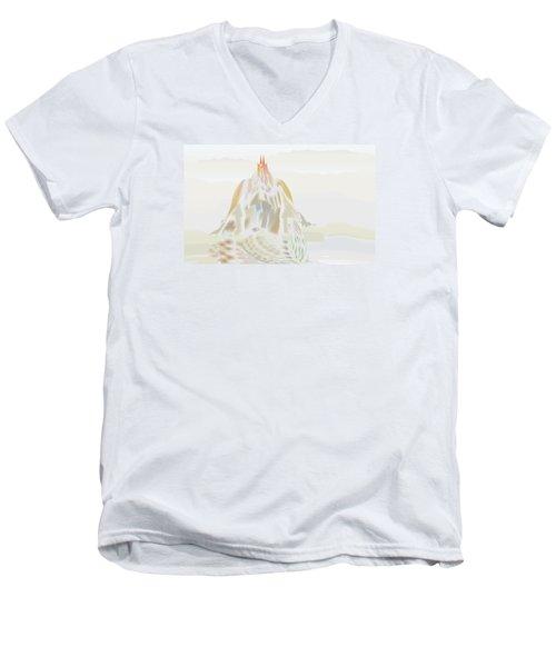 Mount Helm Men's V-Neck T-Shirt by Kevin McLaughlin