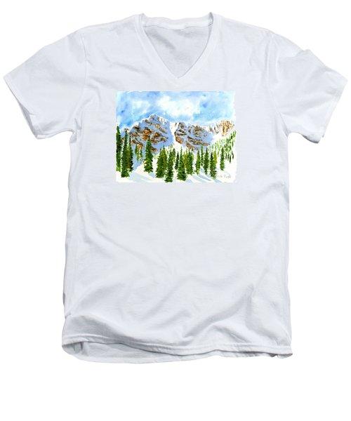 Mount Ogden Men's V-Neck T-Shirt