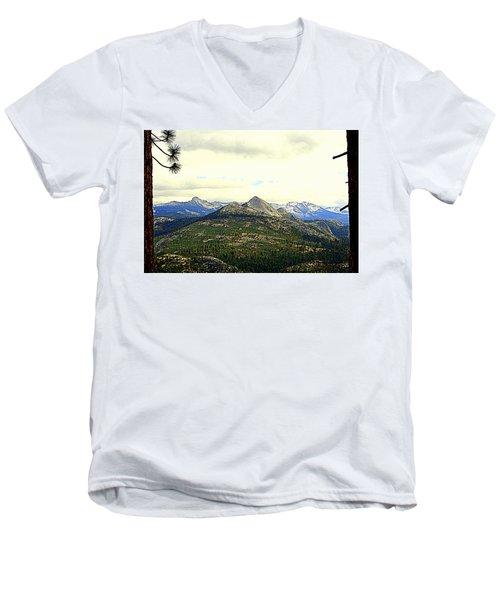 Mount Starr King Men's V-Neck T-Shirt