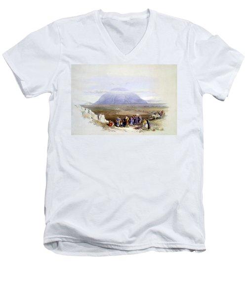 Mount Tabor Men's V-Neck T-Shirt