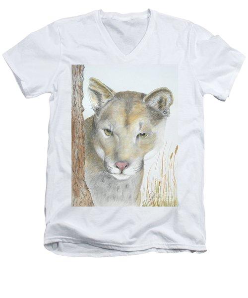 Mountain Hunter Men's V-Neck T-Shirt