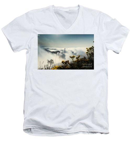 Mountain Of Dreams Men's V-Neck T-Shirt