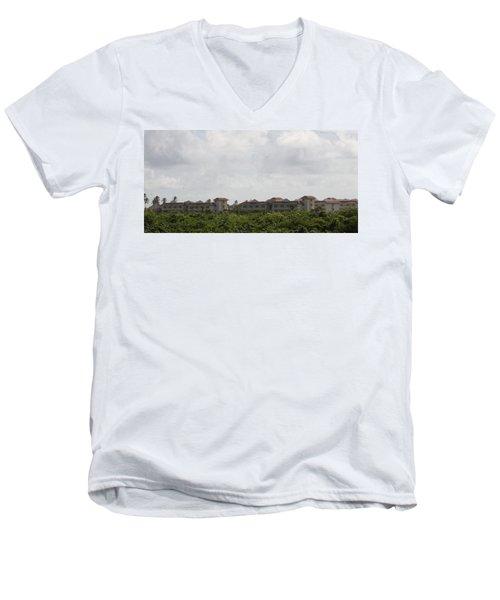 Mountain Villa Men's V-Neck T-Shirt
