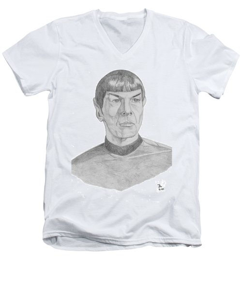 Mr. Spock Men's V-Neck T-Shirt