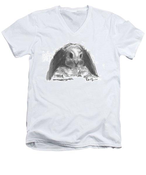 My Baby Bunny Men's V-Neck T-Shirt