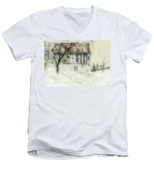 Caledon Barn Men's V-Neck T-Shirt