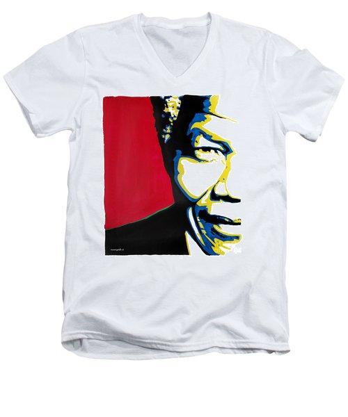 My Dear Nelson Mandela Men's V-Neck T-Shirt