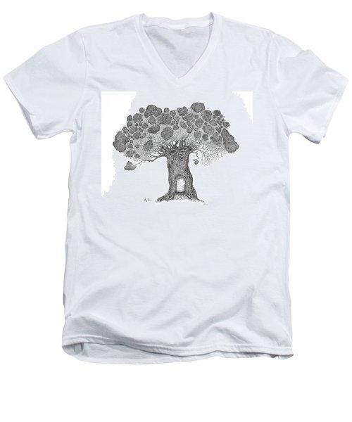 My House Men's V-Neck T-Shirt