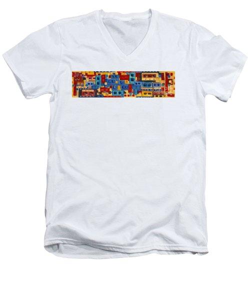 My Jazz N Blues 2 Men's V-Neck T-Shirt