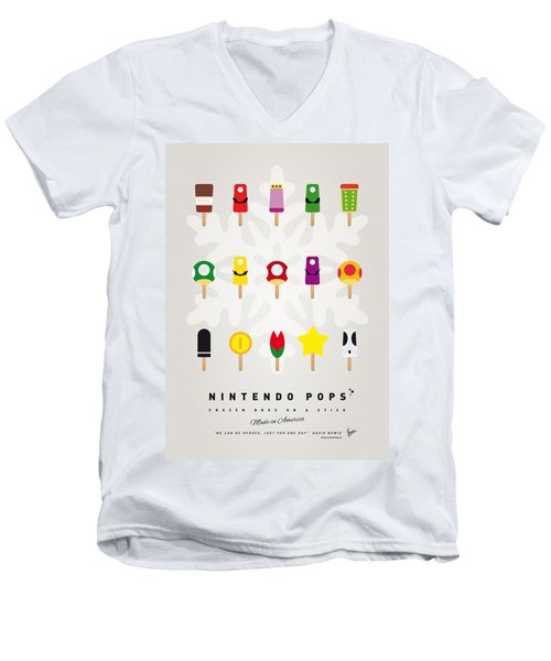 My Mario Ice Pop - Univers Men's V-Neck T-Shirt