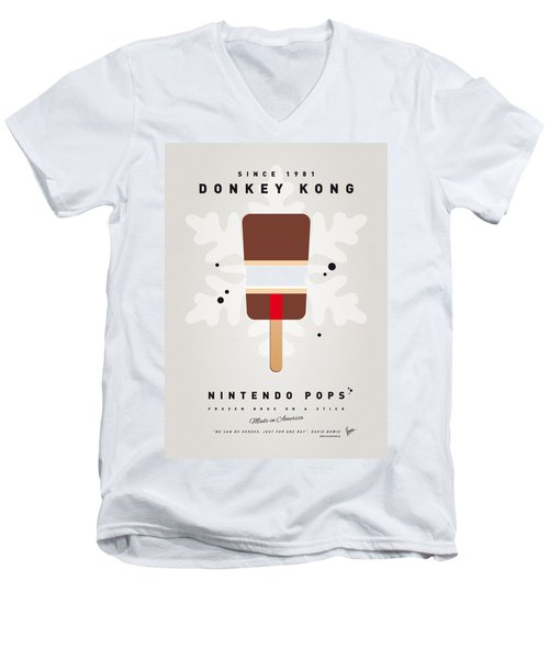 My Nintendo Ice Pop - Donkey Kong Men's V-Neck T-Shirt