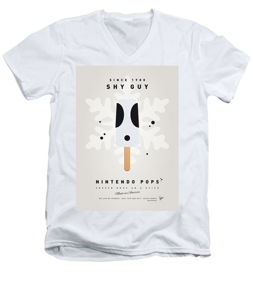 My Nintendo Ice Pop - Shy Guy Men's V-Neck T-Shirt