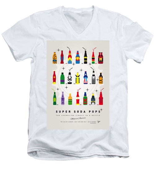 My Super Soda Pops No-00 Men's V-Neck T-Shirt