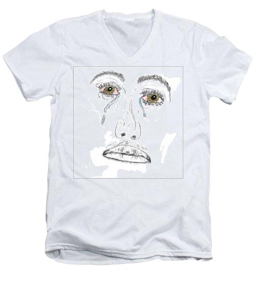 My Tears Men's V-Neck T-Shirt