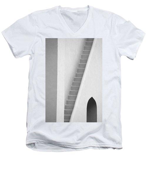 Mysterious Staircase Men's V-Neck T-Shirt