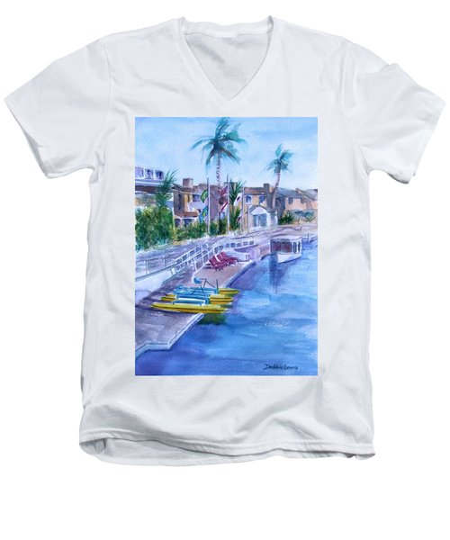 Naples Fun Men's V-Neck T-Shirt