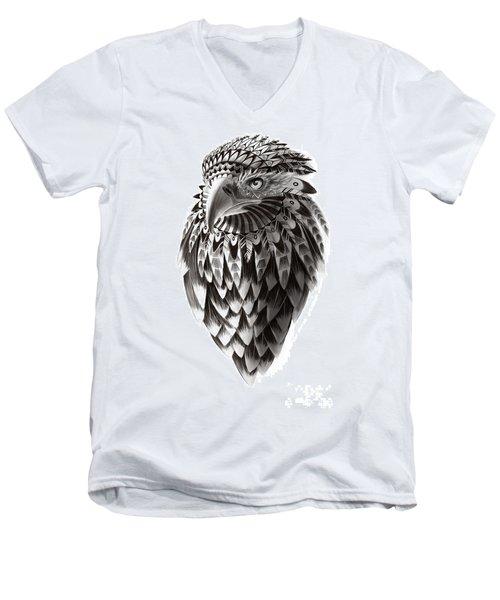 Native American Shaman Eagle Men's V-Neck T-Shirt