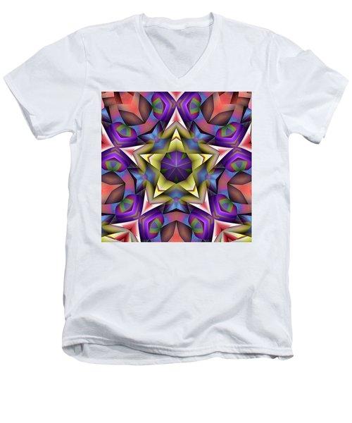 Natural Attributes 16 Square Men's V-Neck T-Shirt