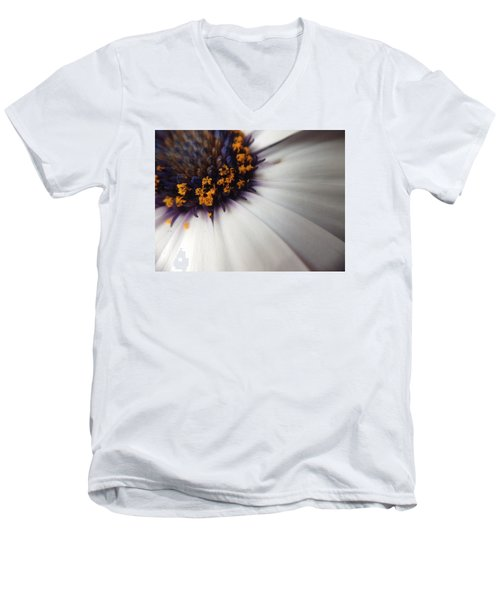 Men's V-Neck T-Shirt featuring the photograph Nature Photography 5 by Gabriella Weninger - David