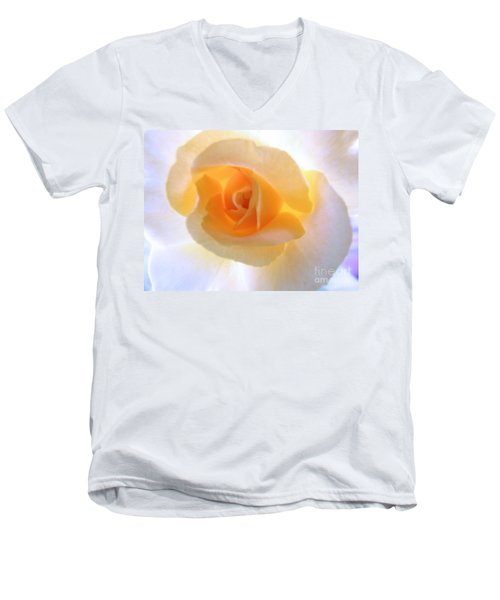 Natures Beauty Men's V-Neck T-Shirt