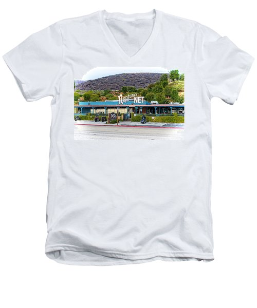 Neptune's Net Men's V-Neck T-Shirt