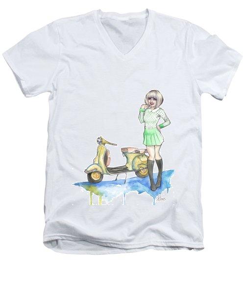 Nessa Men's V-Neck T-Shirt