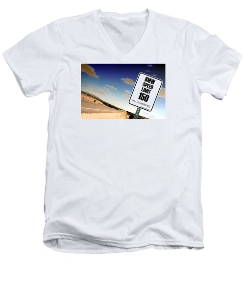 Men's V-Neck T-Shirt featuring the photograph New Limits  by David Jackson