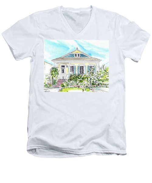 New Orleans Victorian Men's V-Neck T-Shirt