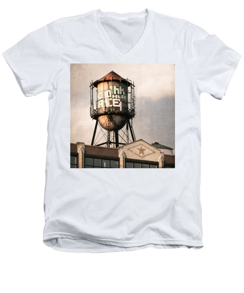 New York. Water Towers 6 Men's V-Neck T-Shirt