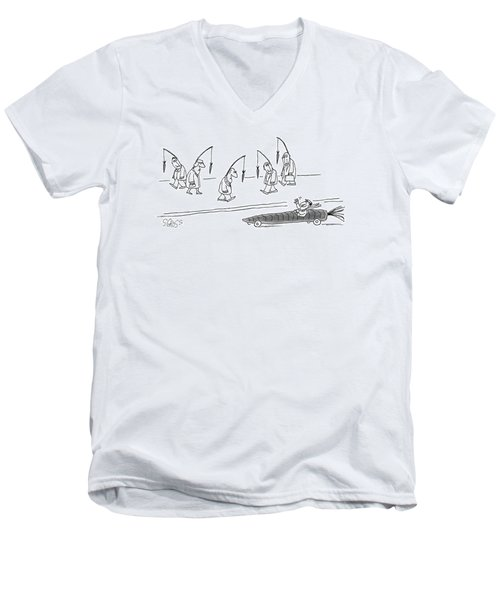 New Yorker April 10th, 1978 Men's V-Neck T-Shirt