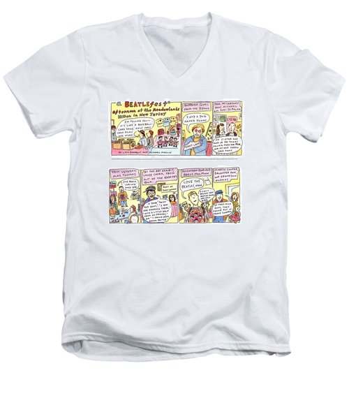 New Yorker April 4th, 1994 Men's V-Neck T-Shirt