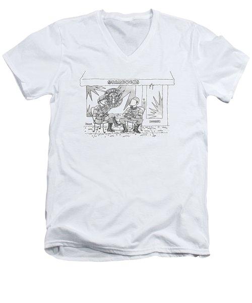 New Yorker December 13th, 1999 Men's V-Neck T-Shirt